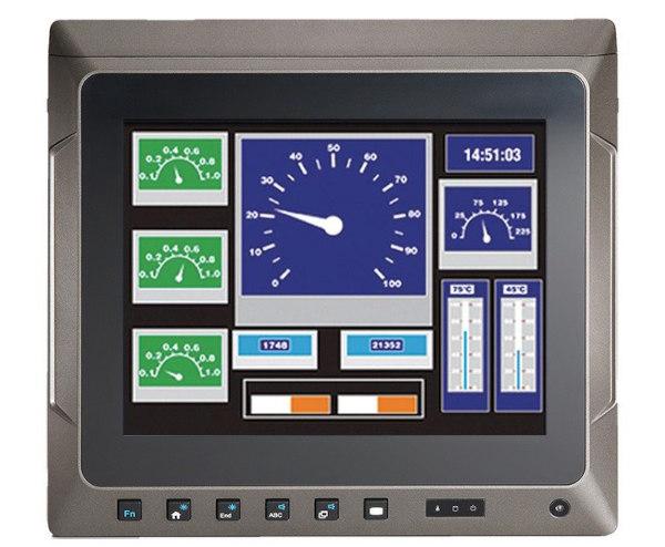Panel PC táctil IP65 para vehículos