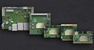 Tarjetas CPU en cinco factores de forma