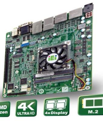 Placa base Mini ITX para uso industrial