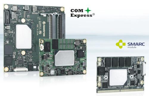 Módulos computacionales COM Express y SMARC