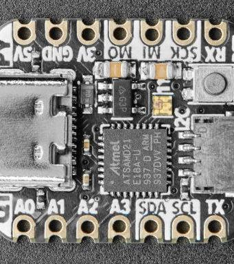 Placa de desarrollo con conector para periféricos encadenados