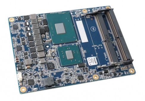 Módulo sin ventilador COM-HPC con procesadores Intel Core