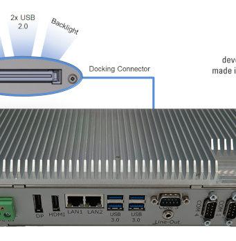 BoxPC Pro 7300 para aplicaciones industriales