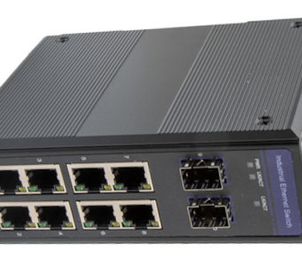 IES-2210GAT-SFP switch Ethernet industrial de diez puertos