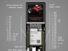 MorphESP 240 Placa de desarrollo ESP32-S2