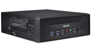 XH410G Box PC para tarjetas PCIe x16 con Intel Core de X generación