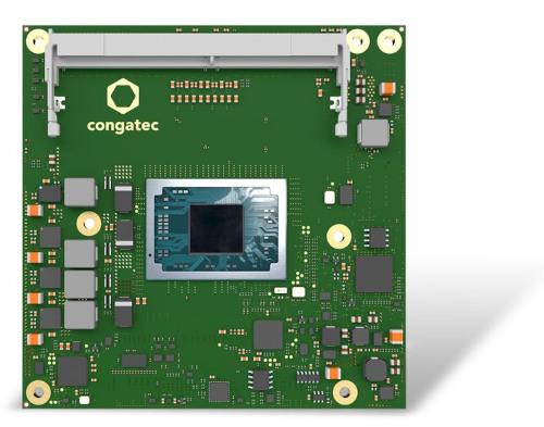 Tarjeta CPU con AMD Ryzen Embedded V2000 en COM Express Compact