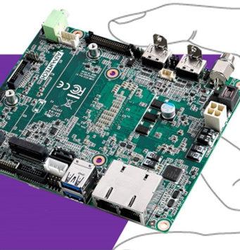 AIMB-U233 placa madre industrial IA para espacios limitados