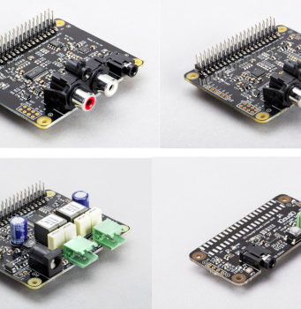 IQaudio Módulos de audio para Raspberry Pi
