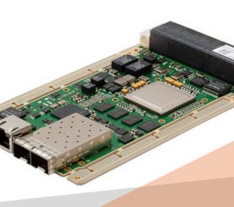 Switch Ethernet VPX 3U totalmente gestionado y compatible