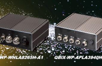QBiX-WP Box PC impermeables con diferentes posibilidades