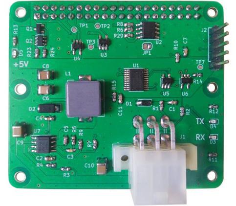 MDB-JS Placa adaptadora IoT para máquinas de vending