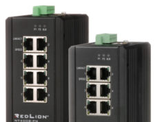 NT4008 switches industriales Gigabit Layer 2 con protocolo PROFINET
