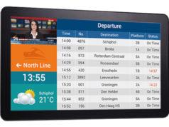 """Panel PC TPPC 2902 de 28.8"""" para servicios de información al pasajero"""