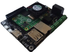 Módulo de computación Raspberry Pi CM Hunter con interfaces ISO