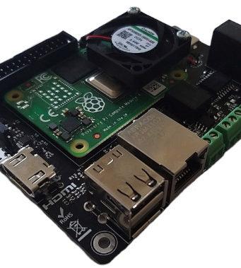 Módulo de computación Raspberry Pi CM Hunter con interfaces ISO