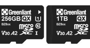 Tarjetas de memoria industriales QX de 1 TB en microSD