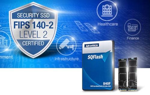 Series SQFlash: SSD con cifrado AES basado en hardware