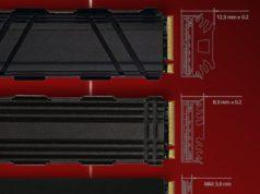 Almacenamiento flash NVMe con gestión térmica personalizable