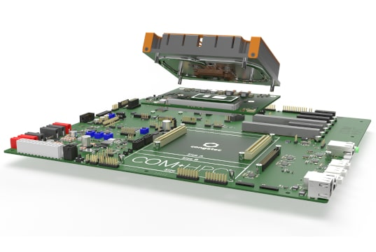 Kit de inicio para COM-HPC Client con procesadores Intel Core