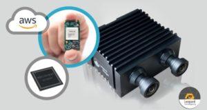 EdgeTuring Ordenador de IA para el edge con dos cámaras