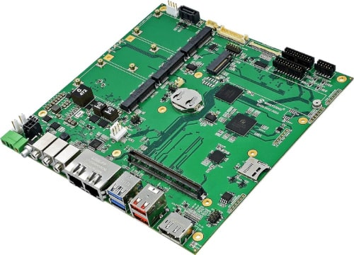 Tarjeta carrier ITX-M-CC452-T10 con formato Mini-ITX
