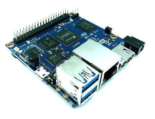 SBC Banana Pi BPI-M2 Pro conpatible con estándares