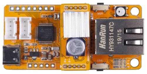 Squama Tarjeta Ethernet Arduino con soporte PoE