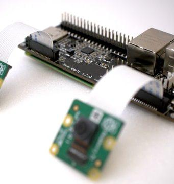 StereoPi V2 Cámara estereoscópica para Raspberry Pi
