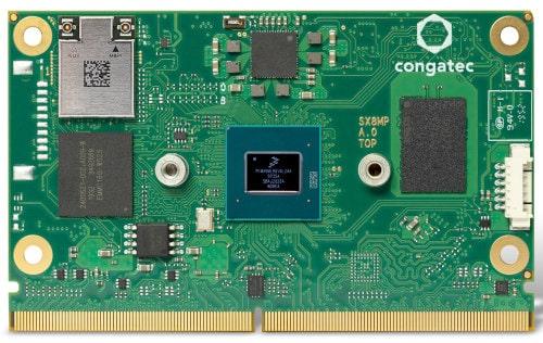Módulos SMARC 2.1 conga SMX8-Plus con procesador NXP i.MX 8M Plus