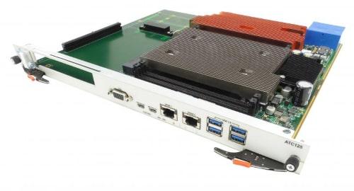 Placa portadora PCIe Gen 3 ATCA ATC125