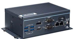 Sistema compacto UNO-238 Whiskey Lake con cuatro slots USB 3.2 Gen2