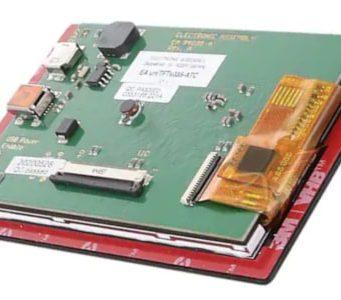 Módulo de display uniTFTs035-ATC