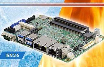 """IB836 SBC de 3.5"""" con procesadores Intel Atom x6000"""