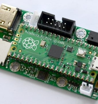 Placa de MCU con salida de vídeo RP2040-PICO-PC