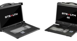 Workstations portables StealthBox para usos industriales
