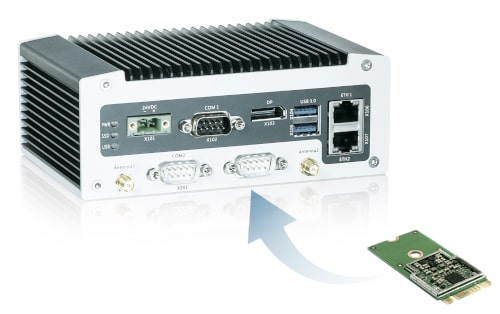 KBox A-203-AI-GC Box PC para reconocimiento de imagen de IA