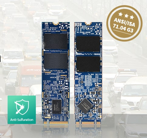 Módulos DRAM y almacenamiento SSD Apex anticorrosión