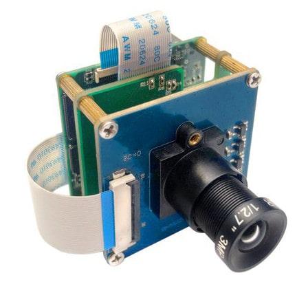 Kit de cámara CDK para Inteligencia Artificial