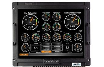 "TRICOR20RC Panel PC de 20.1"" con diseño robusto"