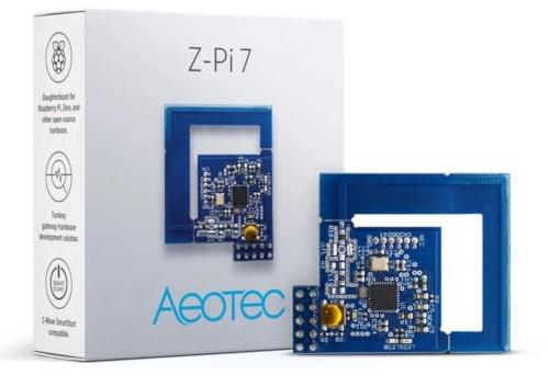Módulo gateway Z-Wave Z-Pi 7