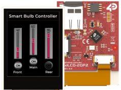 "pixxiLCD-20 Módulo display de 2"" con controlador gráfico PIXXI-28"