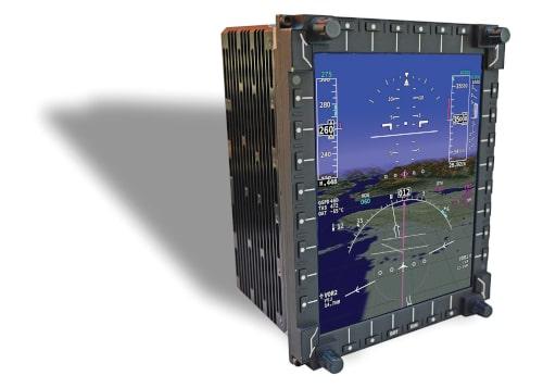 MFD-3068 Display inteligente multifuncional y multinúcleo para aeronaves
