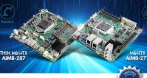 Placas madre industriales AIMB-277 y AIMB-287 Mini-ITX