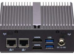 Miniordenador BOX J4125 con múltiples opciones de entradas y salidas