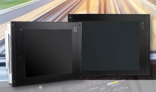 """DC19 y DC20 Paneles PC de 10.4 y 12.1"""" robustos"""