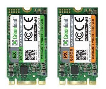 ArmourDrive EX y PX SSD SATA M.2 industriales de elevada resistencia