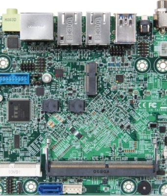 NANO-6063 Tarjeta embebida con procesadores Elkhart Lake