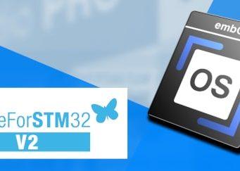 """embOS RTOS con la etiqueta de calidad """"MadeForSTM32 v2"""""""