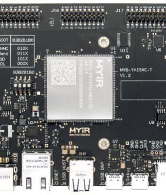 MYC-YA15XC-T Módulo CPU con procesador STM32MP1